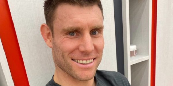 (Image) Milner's funny IG selfie from training – with hashtags to roast Robbo