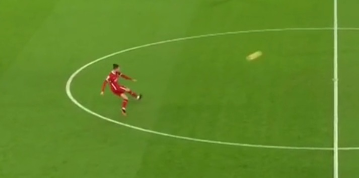 (Video) Mo Salah's crucial goal v. Spurs started with Rhys Williams' accurate long-pass