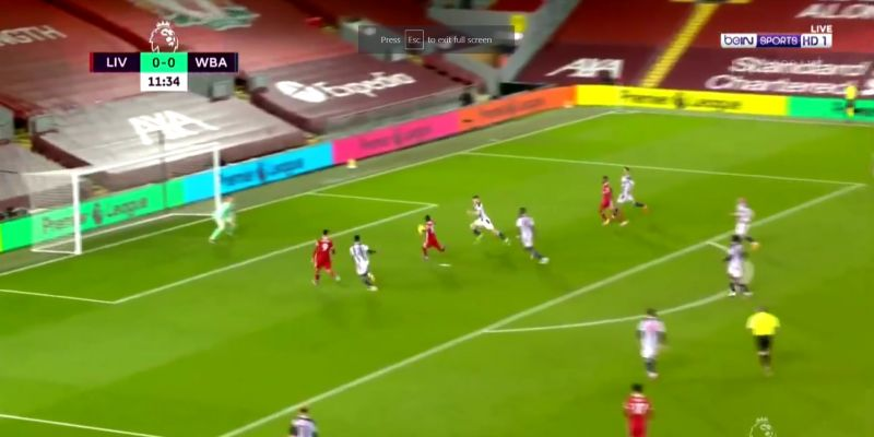 (Video) Sadio Mane blasts Liverpool into the lead with well-taken strike