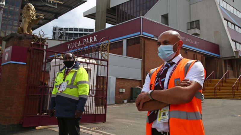 Aston Villa release updated statement with LFC tie hanging in the balance