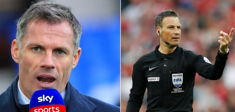 Carragher launches dig at United after Clattenburg 'joke' bias comments
