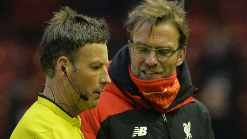 Clattenburg says ref was wrong to blow half-time whistle early on Liverpool