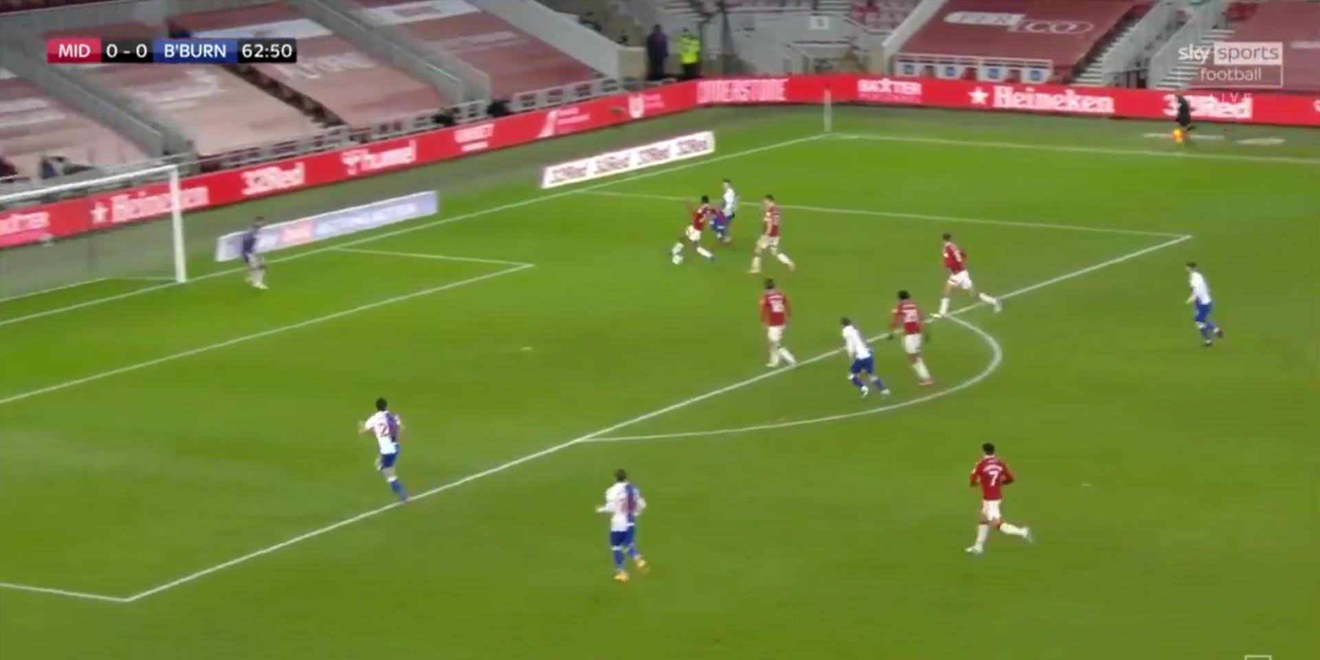 (Video) Harvey Elliott bags lovely nutmeg assist for crucial Blackburn goal