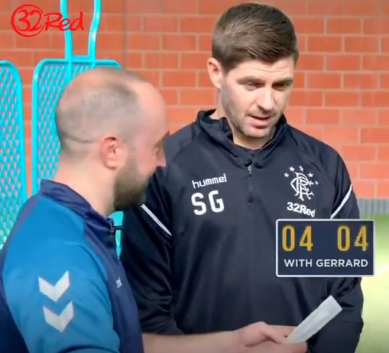 (Video) Steven Gerrard reveals his 'ultimate ambition' – it involves Rangers and Liverpool