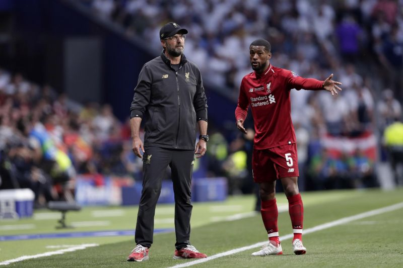 New report claims knowledge of Gini Wijnaldum's wage demands as agent pitches Dutchman to other clubs