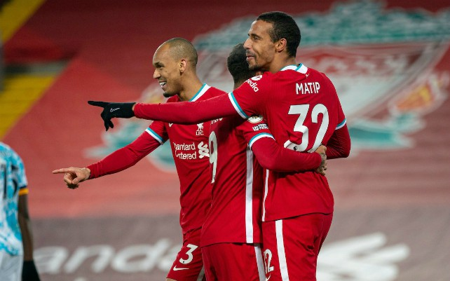 Liverpool could be without three key players for big fixtures