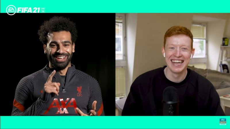 (Video) Salah can't decide between four players for the best goalkeeper he's ever faced