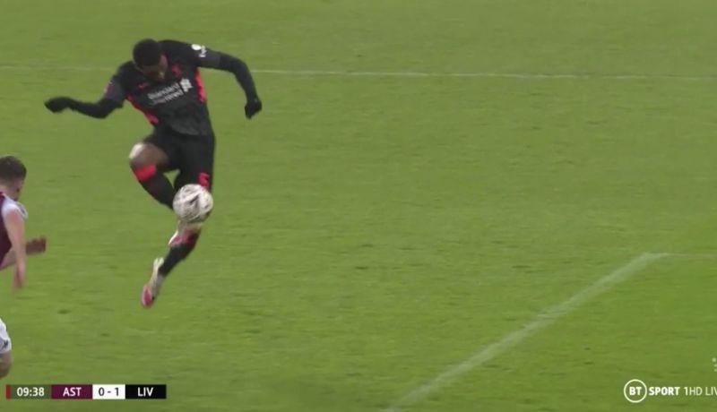 (Video) Wijnaldum's miss v Aston Villa almost classes as a comedy one in FA Cup tie