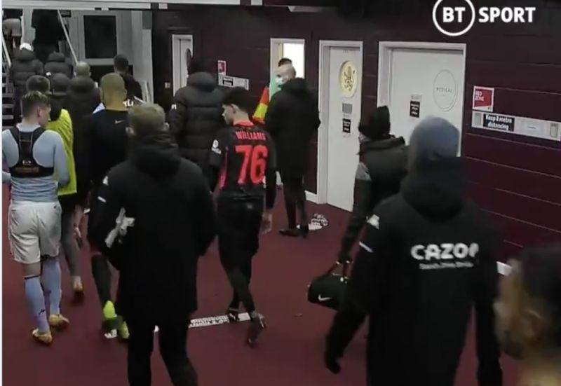 Fabinho sends wholesome tweet after returning Louie Barry's shirt after Aston Villa clash