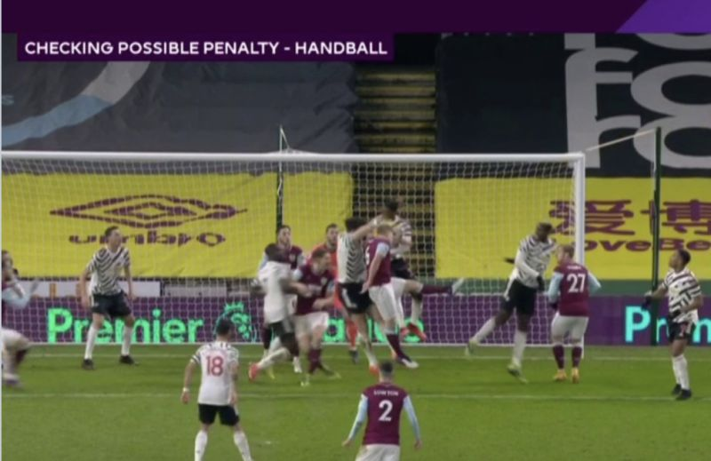 Harry Maguire gets away with handball in area – leaving some Liverpool fans furious