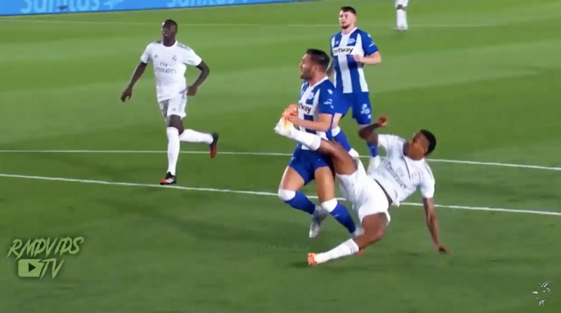 (Video) Eder Militao's highlights shows he has a lot of Joe Gomez about him