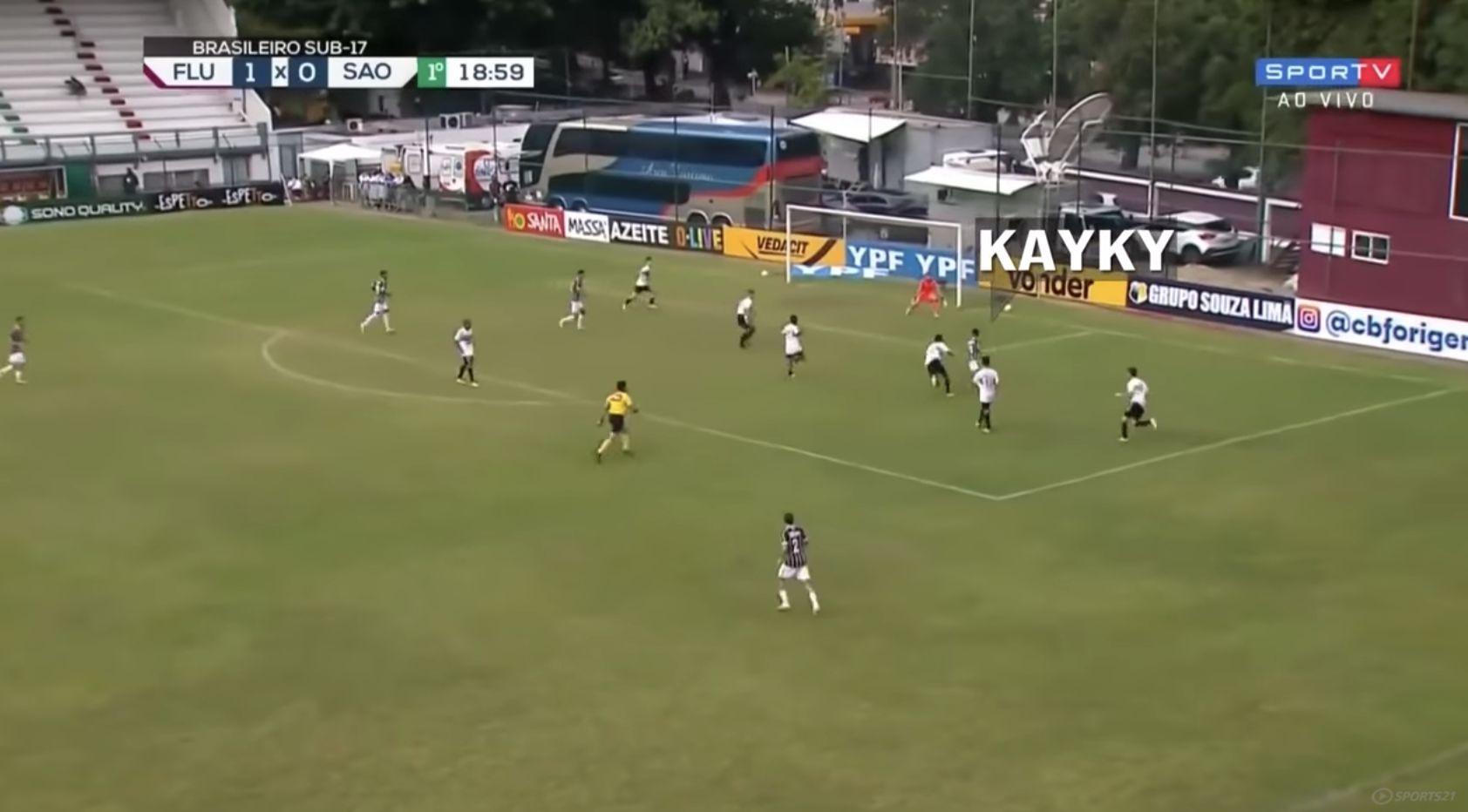 (Video) LFC target Kayky tearing it up in Brazil – Hotshot has a bit of Mo Salah about him