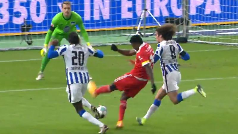 (Video) Taiwo Awoniyi Union Berlin goals; forward continues to shine on loan