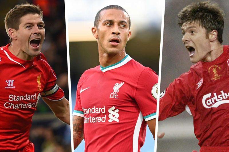 Steven Gerrard replies to Thiago and conjures ideas of dream midfield alongside Liverpool's Spaniard