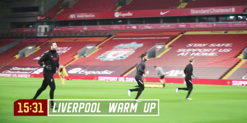 (Video) Liverpool outcast makes appearance at Anfield despite apparent banishment