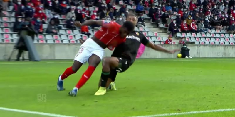 (Video) Bade's best bits as exciting centre-half linked with LFC transfer; marauding Frenchman dominant in the air