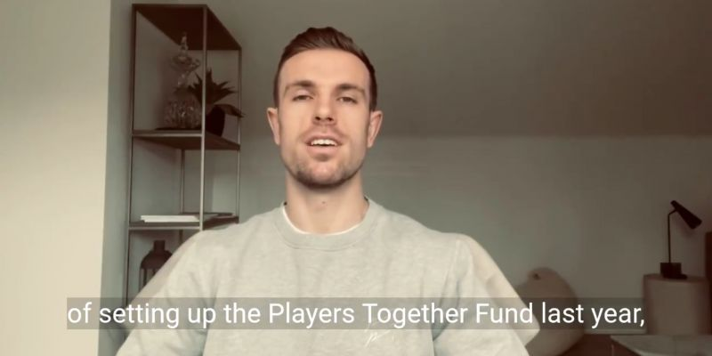 "(Video) Henderson shares classy message as he joins NHS initiative: ""Massive honour for me"""
