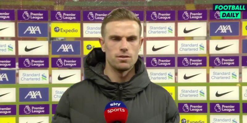 "(Video) Hendo reacts to ref's dodgy performance in Liverpool v. Man Utd: ""Strange – very strange"""
