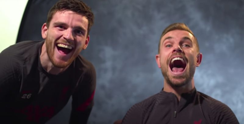 (Video) Robbo did the Hendo shuffle in the dressing room before Liverpool won the title