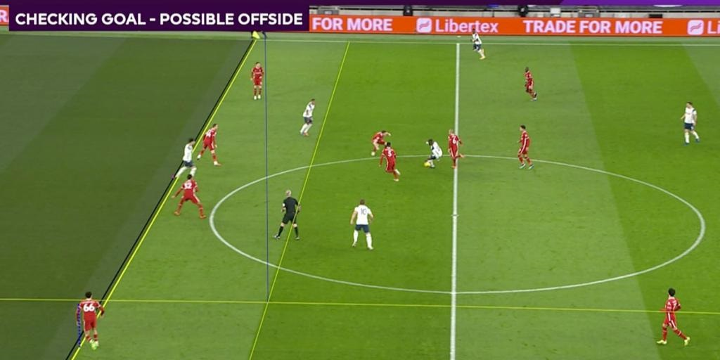(Image) Liverpool finally get lucky with VAR as Son goal disallowed