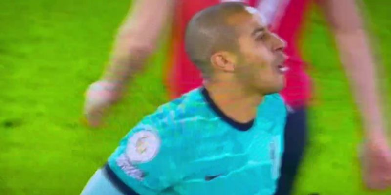 (Video) Frustrated Thiago fumes at ref's disaster-class in Liverpool loss