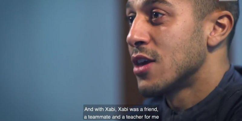 "(Video) Thiago can't pick between ""legend of football"" Gerrard and ""teacher"" Alonso"