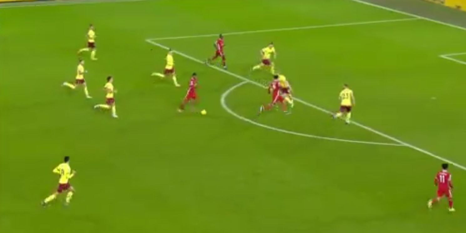 (Video) Gini's marauding 90-yard run to set up Salah, would have been goal of the season