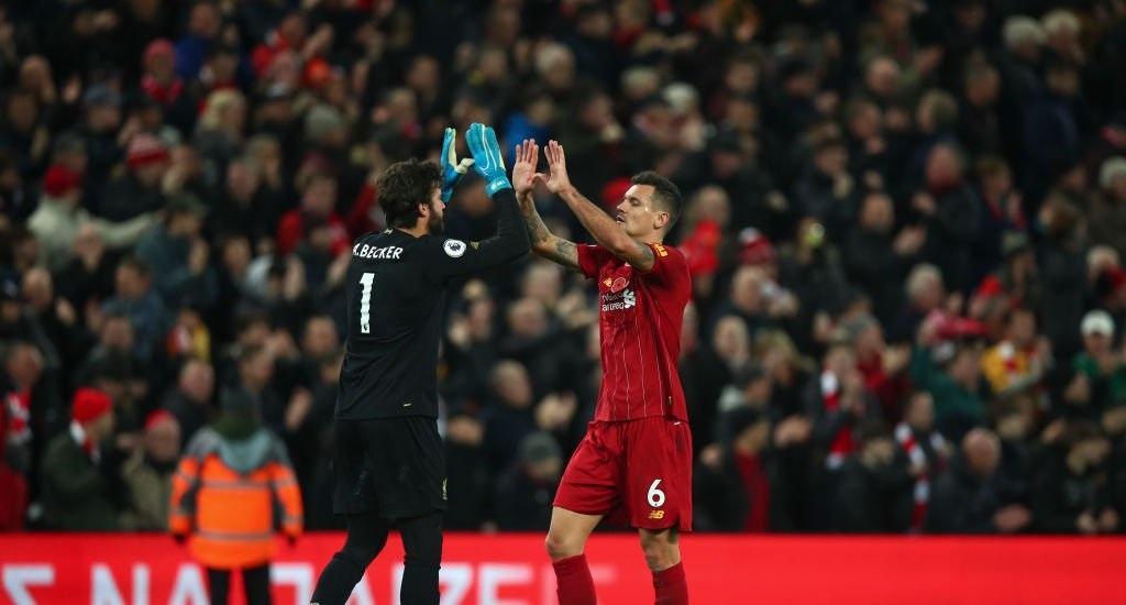 Dejan Lovren offers message of support for former Liverpool team-mate after Man City disaster