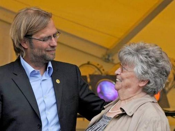 Elisabeth Klopp's funeral took place yesterday; Jurgen prevented from travelling