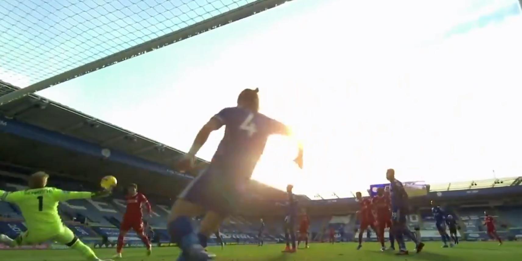 (Video) Firmino denied from point-blank range by worldie Schmeichel save