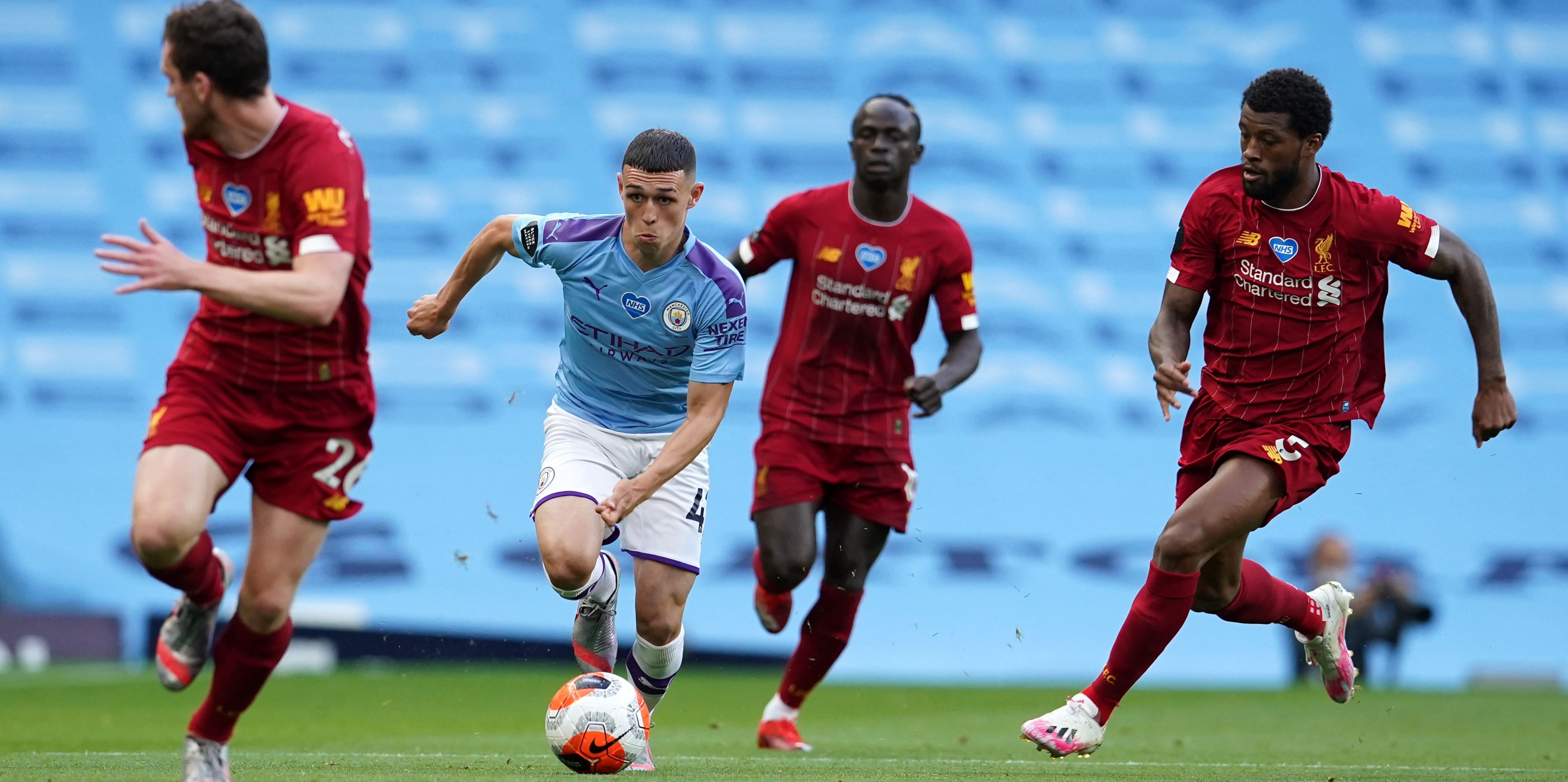 'I still see them as a danger' – City star Foden backs Liverpool to challenge this season