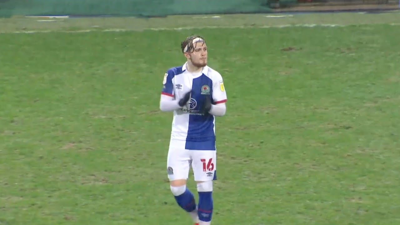 'Headband Harvey' – Twitter reacts as Elliott scores right-foot bullet for Blackburn Rovers