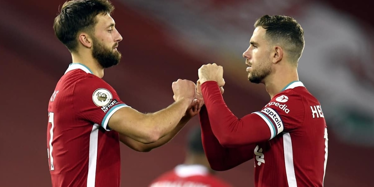 Jordan Henderson reacts to 24-year-old Liverpool star's performance with eight-word message
