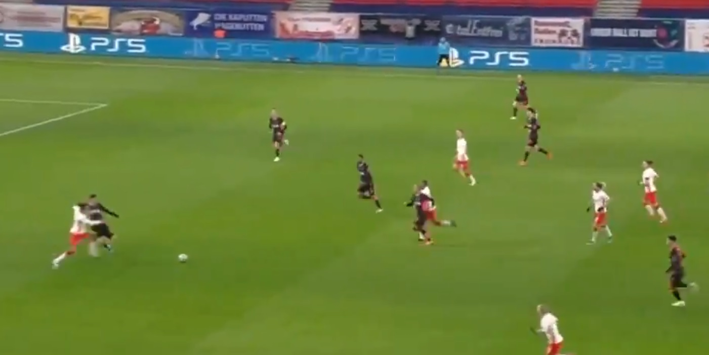 (Video) Ozan Kabak's highlights v RB Leipzig: Turk registers composed performance in first UCL clash for LFC