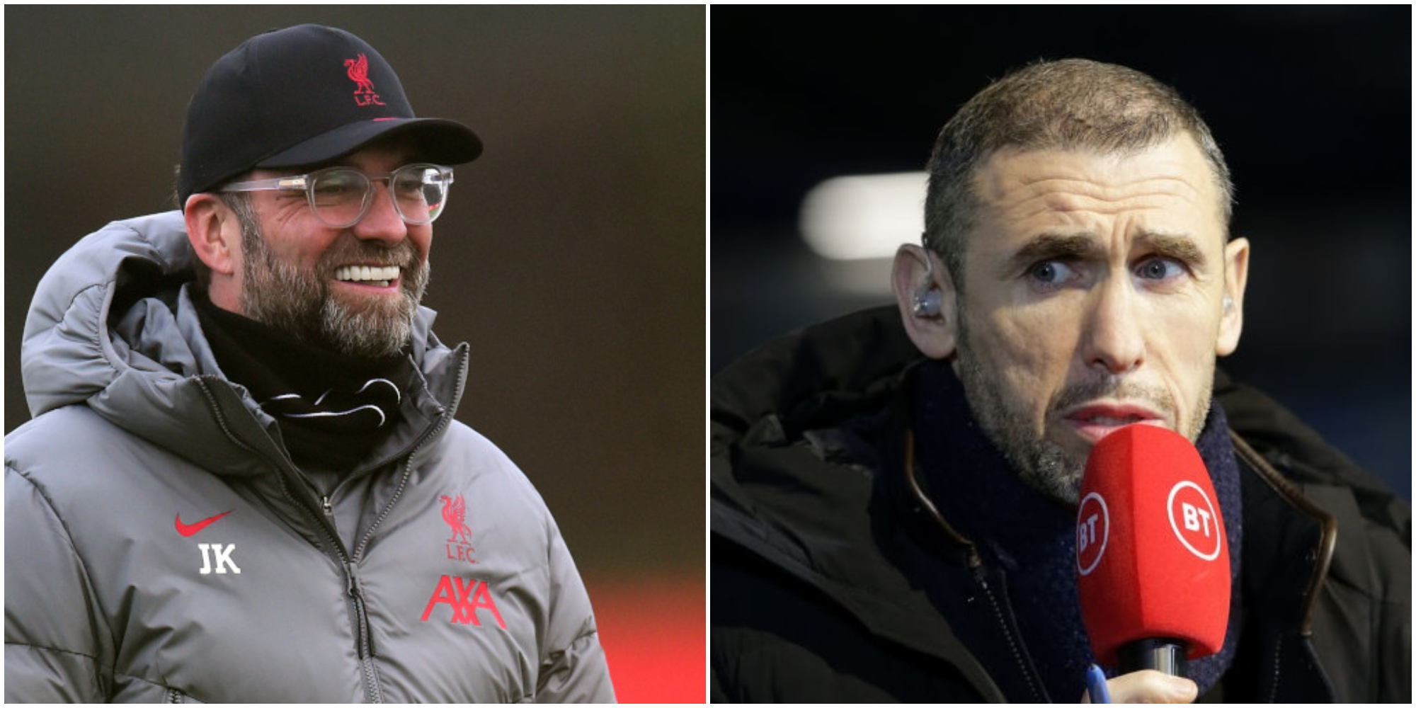 Keown says Klopp was wrong to put faith in midfielders as makeshift defenders