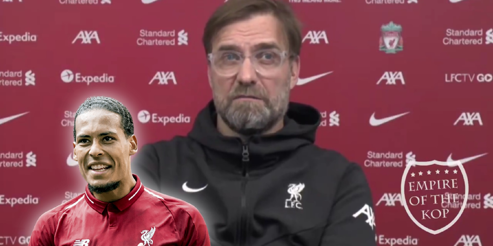 """(Video) Klopp vows to include van Dijk in Liverpool squads as he hopes for a """"miracle"""""""