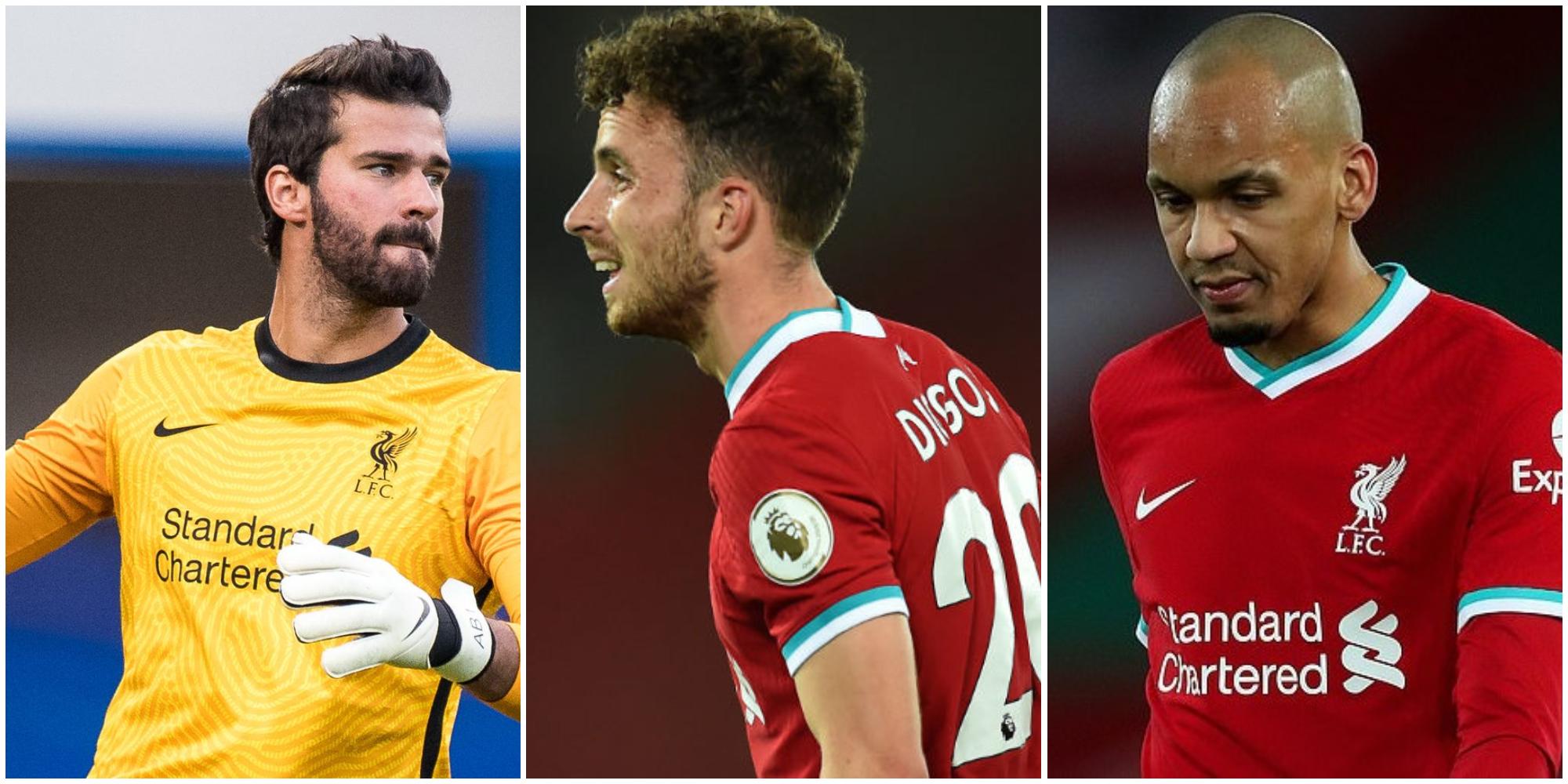 Liverpool receive huge international duty boost; club won't have to release Jota, Alisson, Fabinho & Firmino