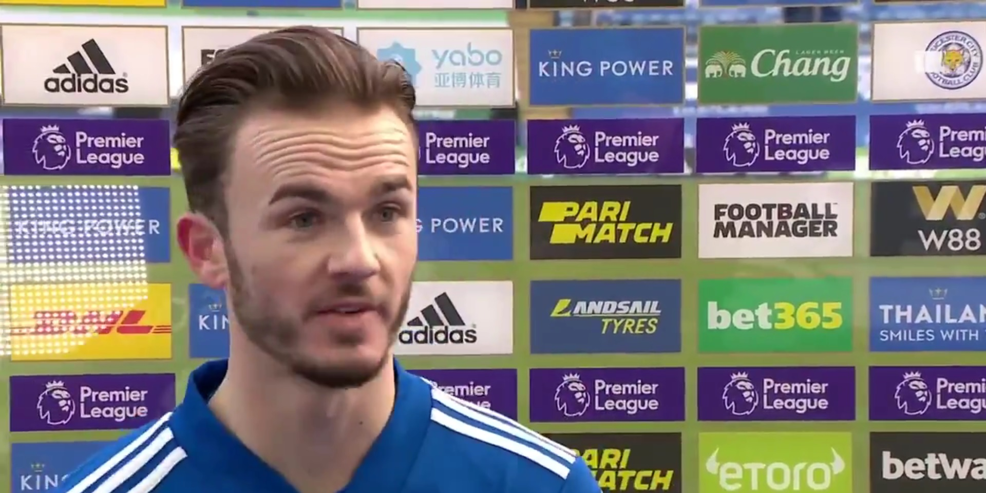 """(Video) Leicester star backs Alisson to bounce back after """"tough time"""": """"He's a top goalkeeper"""""""