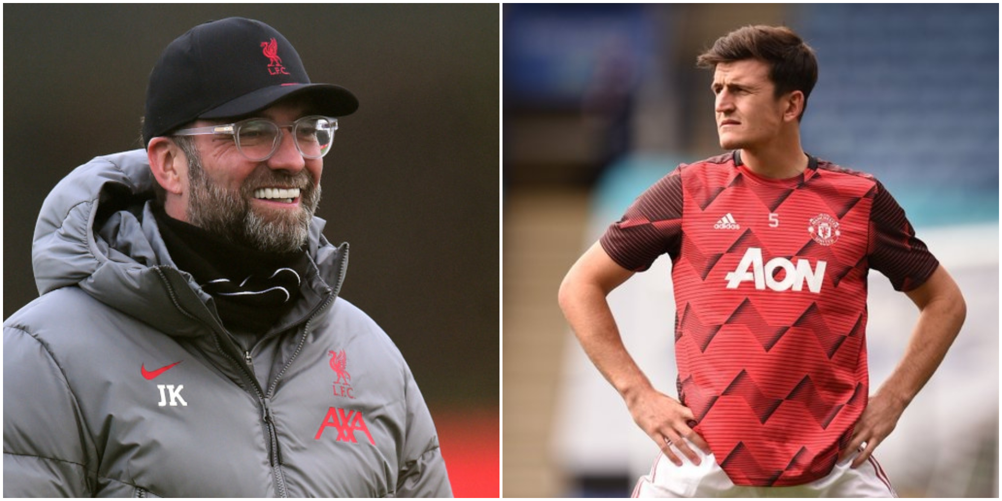 Maguire insinuates Klopp partly responsible for United's changed relationship with referees