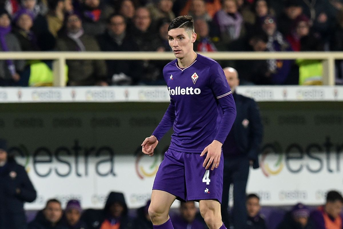 'Very likely…' Fiorentina news outlet claims 6ft5′ €50m CB Nikola Milenković is Liverpool or Manchester United bound