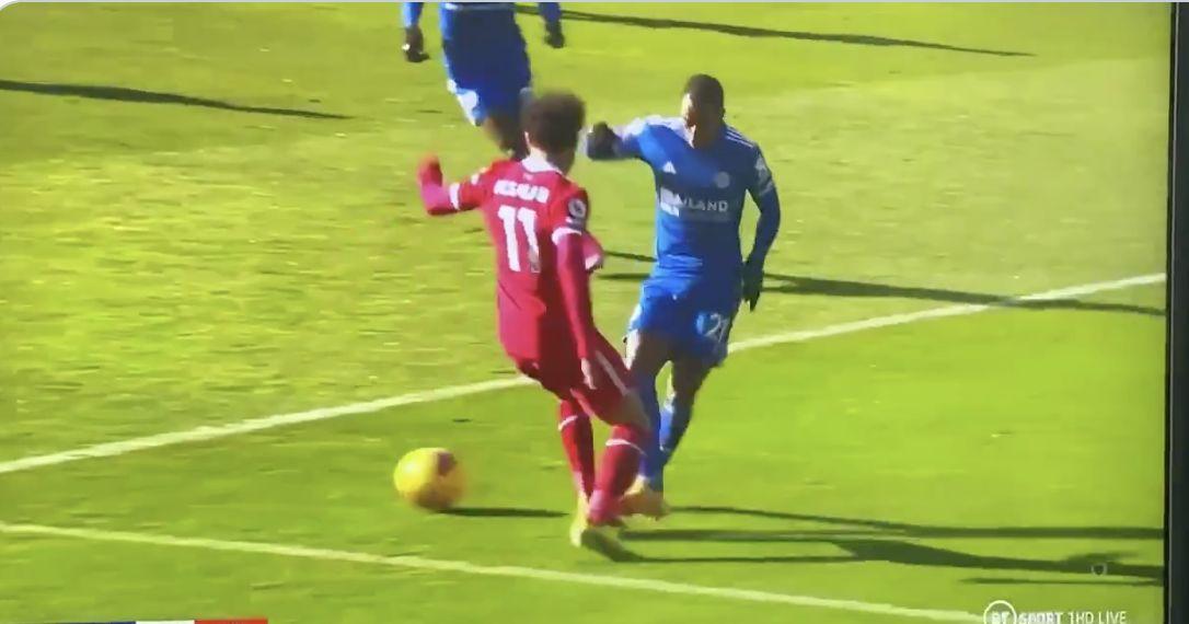 (Video) Mo Salah penalty shout: VAR checks and doesn't award Liverpool spot-kick