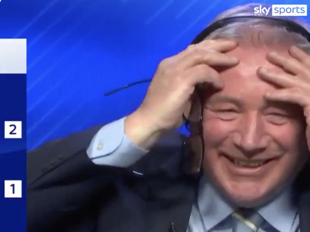 (Video) Sky Sports studio loves Alisson's mistake and go berserk after second Leicester goal