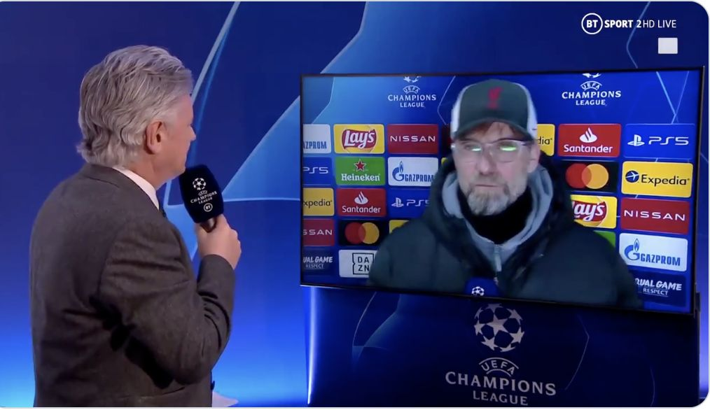 (Video) Klopp has a message for the haters after 2-0 CL win
