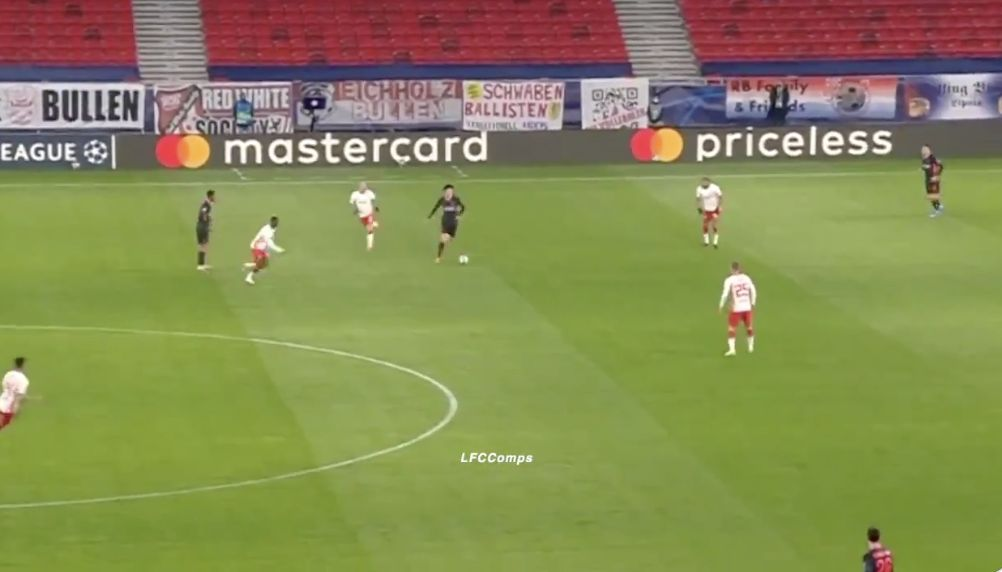 (Video) Wow: Curtis Jones Champions League MOTM performance v Rb Leipzig, with ball stuck to Scouser's feet throughout