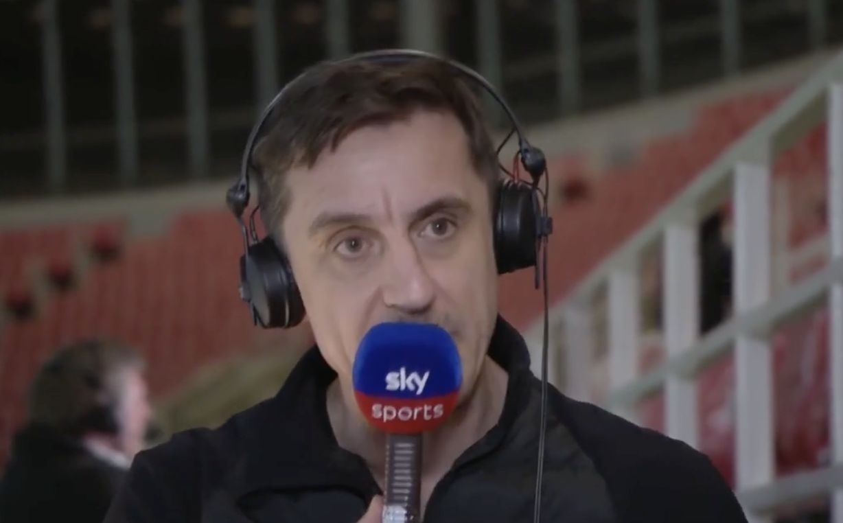 Gary Neville makes bold Champions League claim about Liverpool ahead of Real Madrid clash