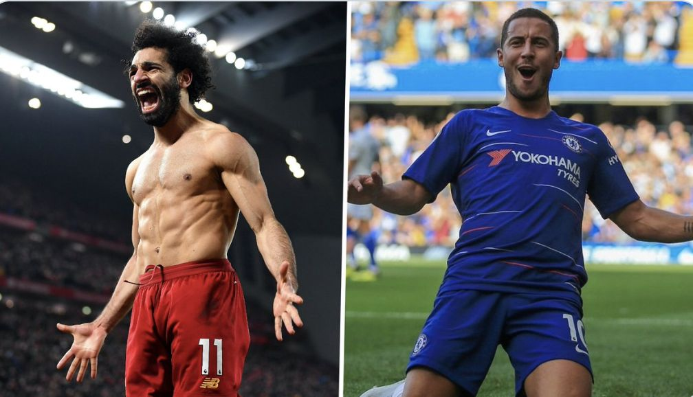 Hilarious: 130,000+ voters name Eden Hazard better than Mo Salah