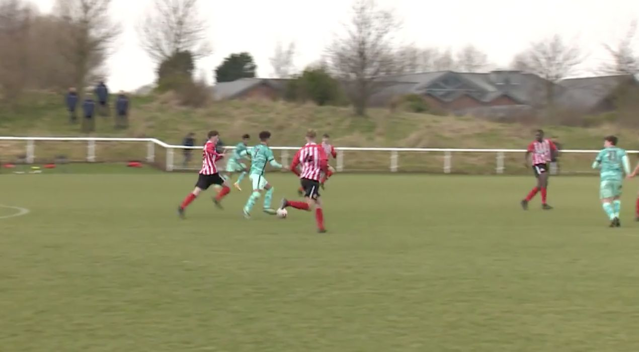 (Video) New LFC signing Kaide Gordon stars in 6-0 U18 hammering