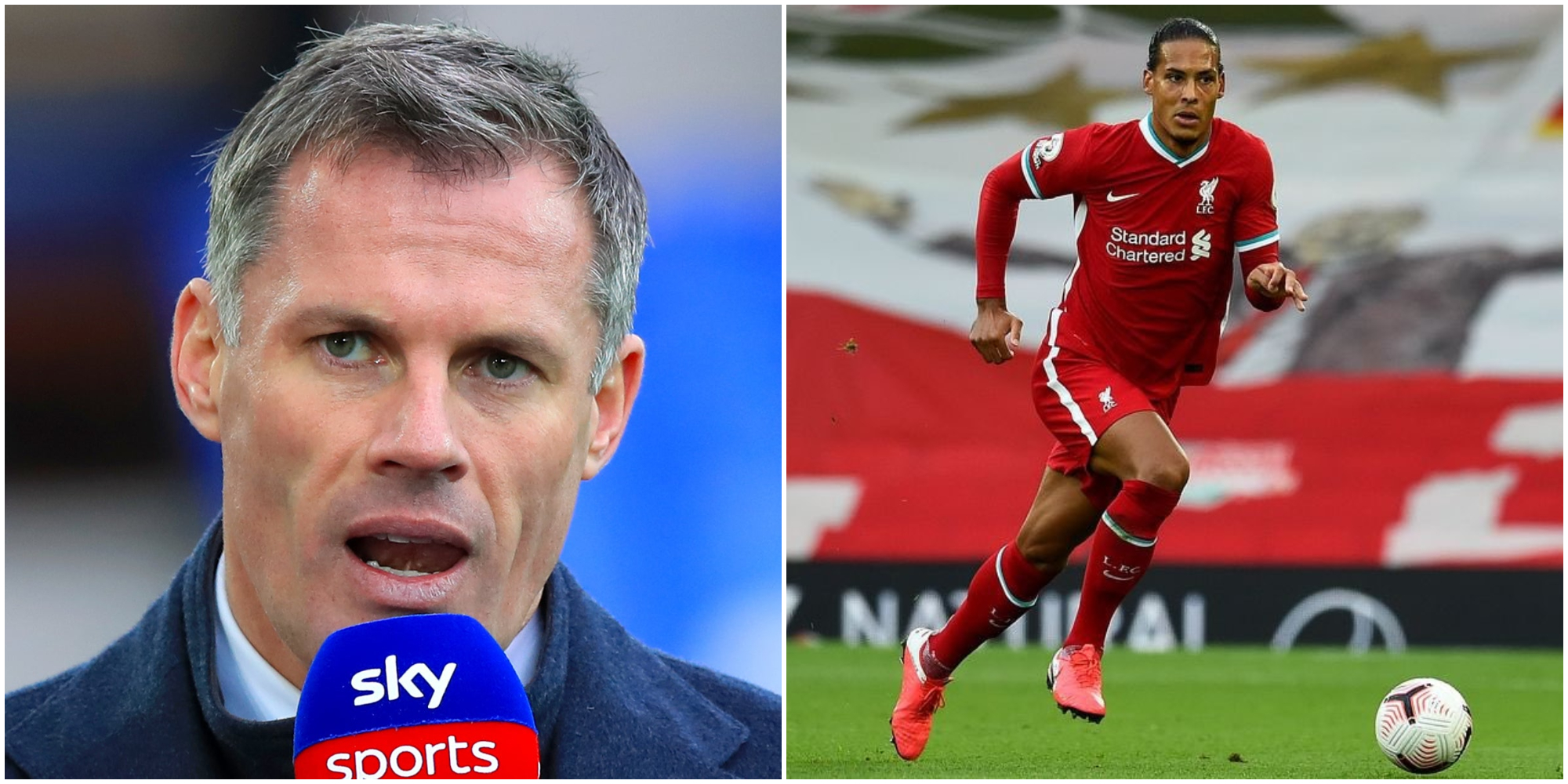 Carragher blasts Liverpool for Van Dijk excuse; says Liverpool 'deserved' their derby defeat