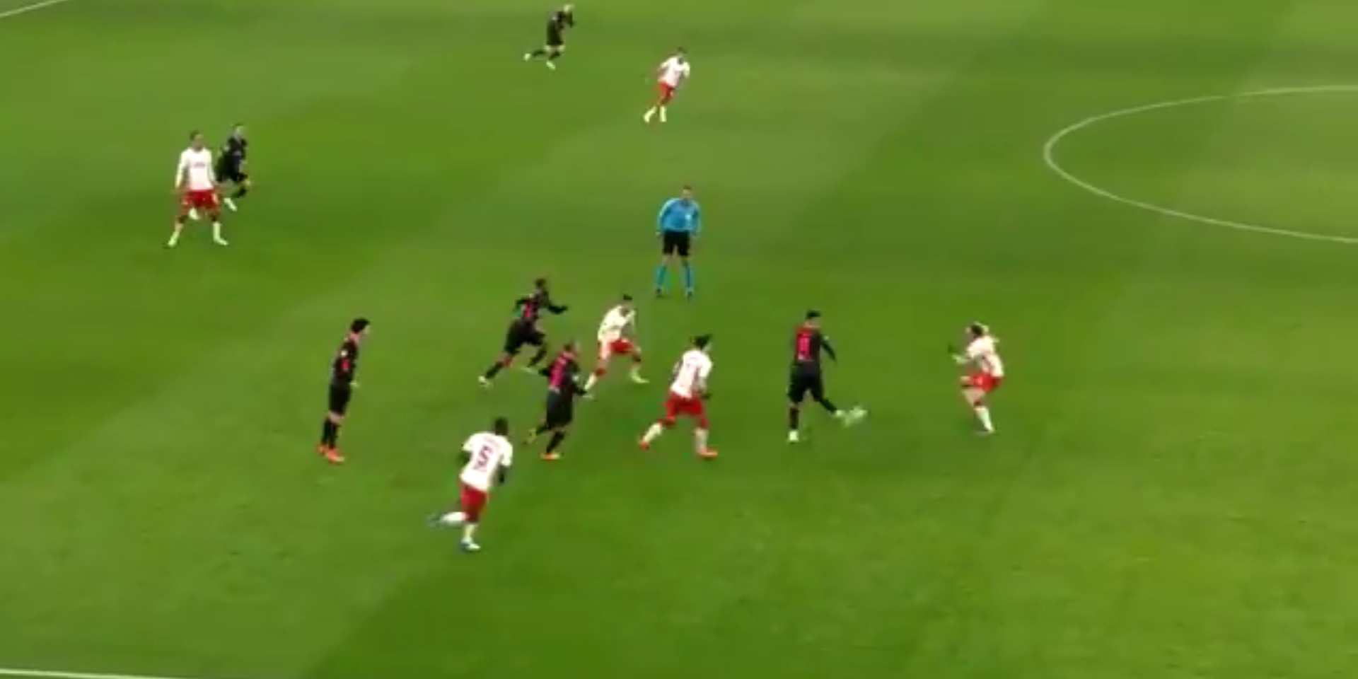 (Video) Firmino pulls off tidy piece of skill in lesser-seen clip from Liverpool win