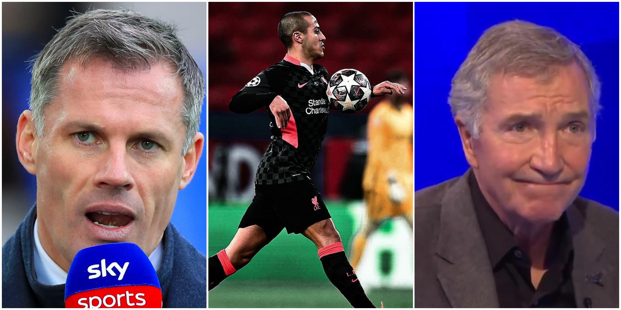 Souness calls out Carragher for 'extreme' opinion on Thiago Alcantara
